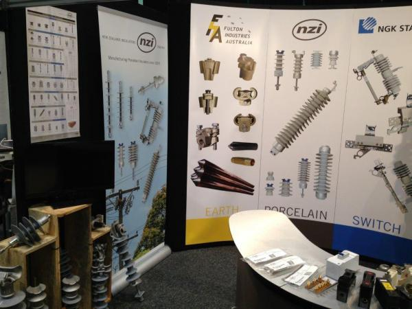 Displaying our product range