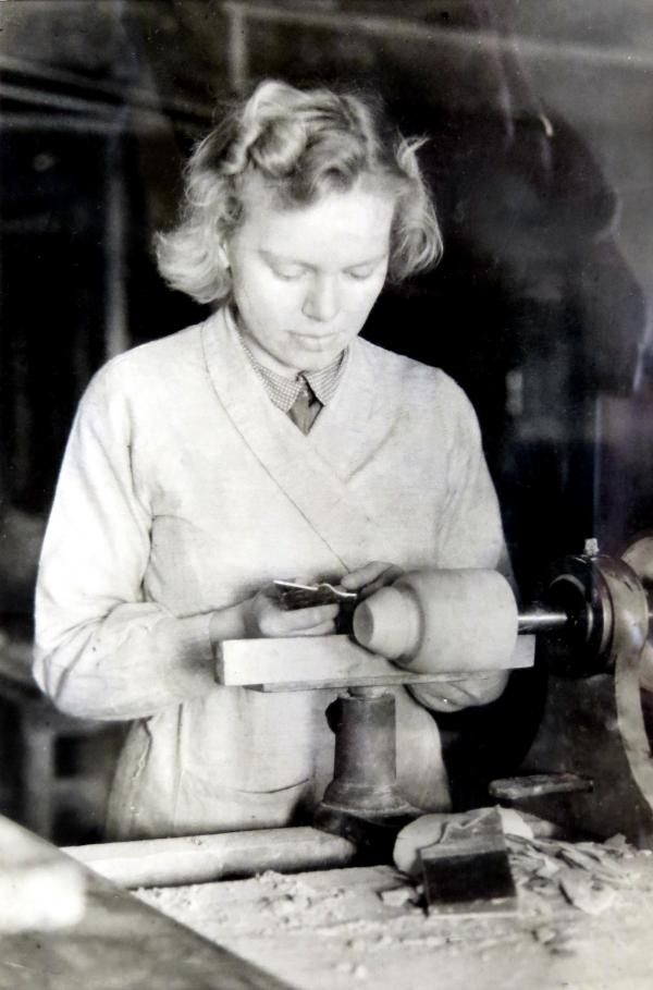 At work in 1936