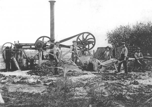 Steam Pug Mill, date unknown
